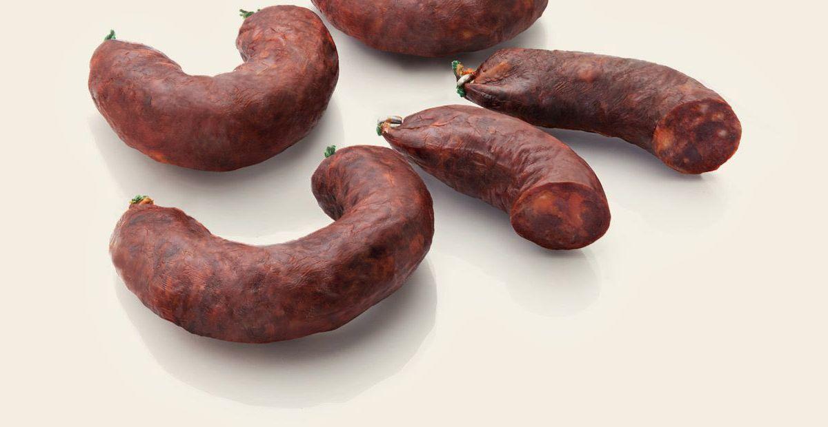 Iberico pork jabuguito sausage